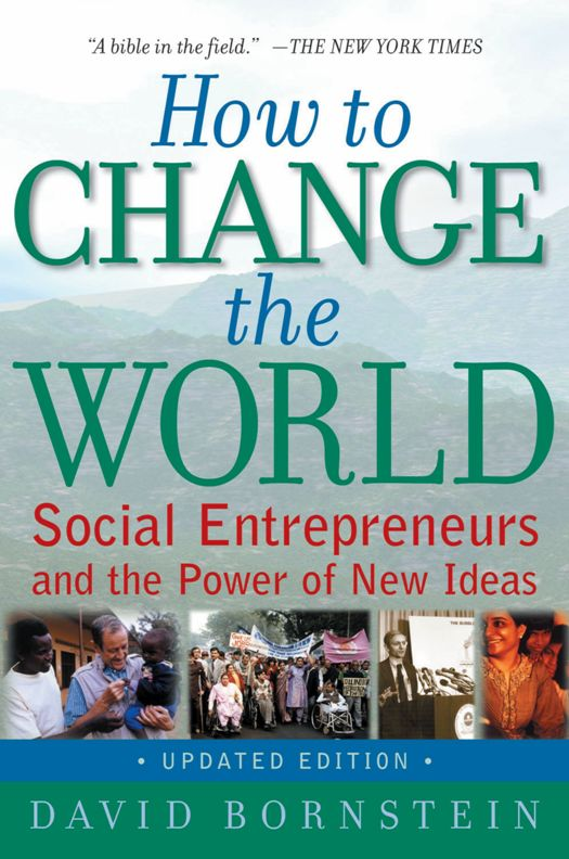 LIVRE / How to change the world: Social entrepreneurs and
