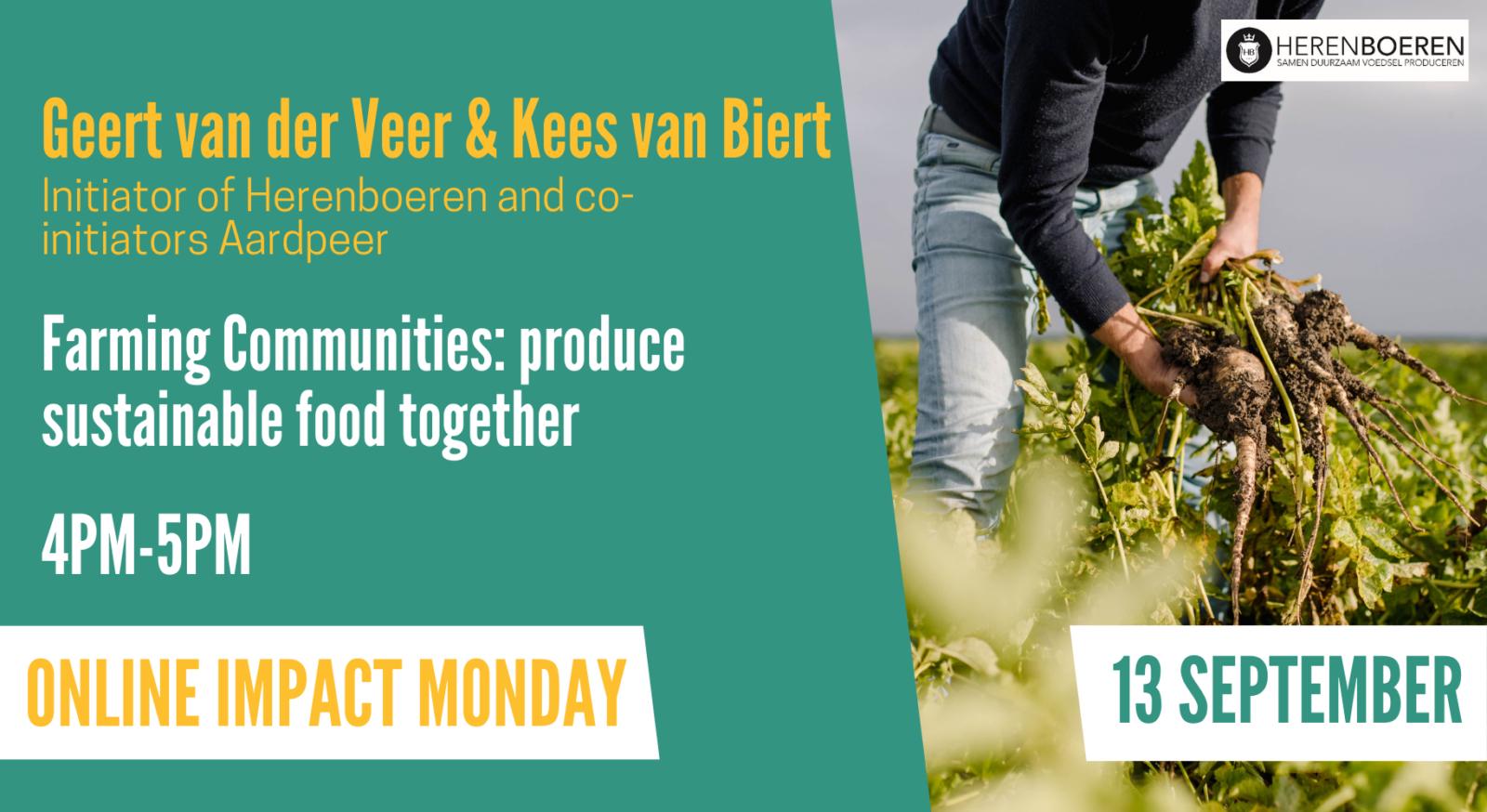 Impact Monday Farming